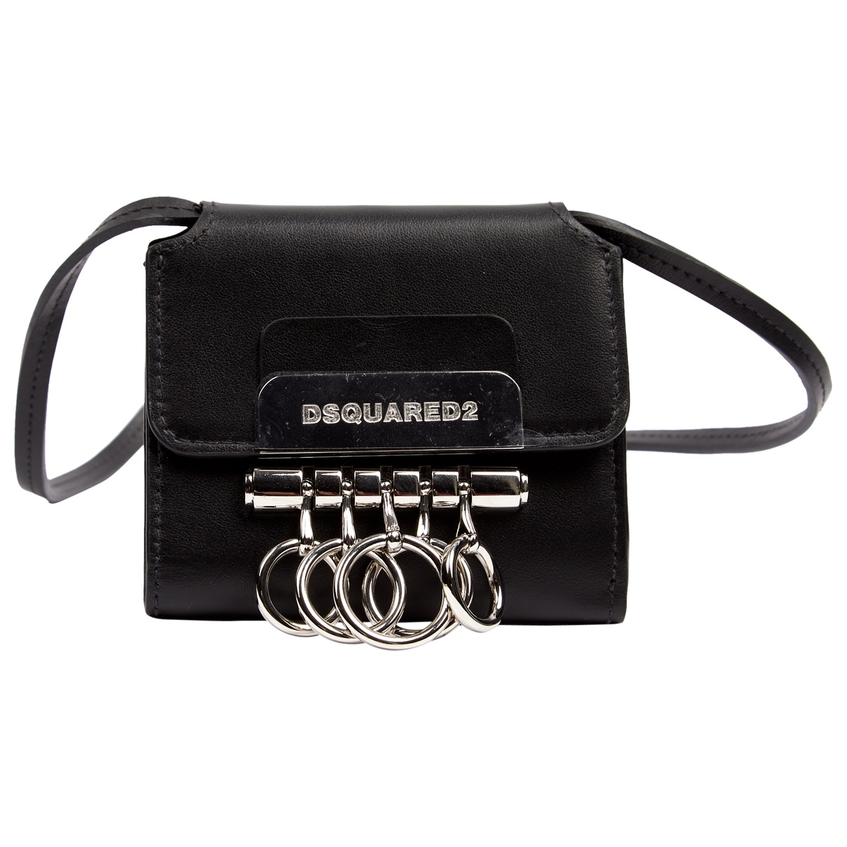 Dsquared2 \N Black Leather wallet for Women \N