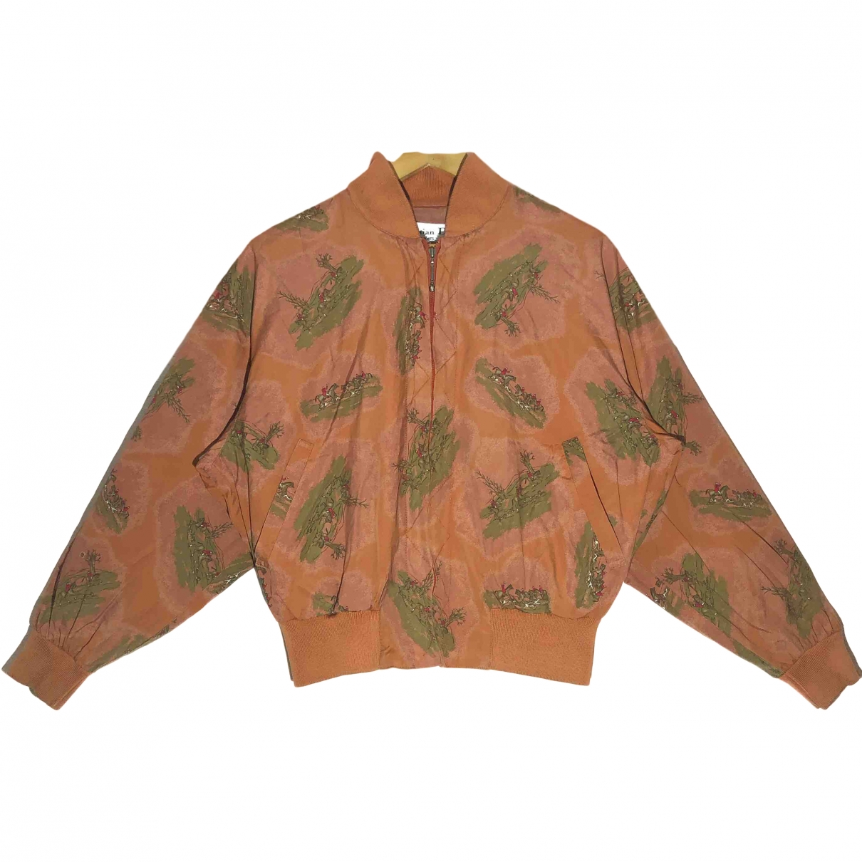 Dior \N Brown Silk jacket  for Men M International