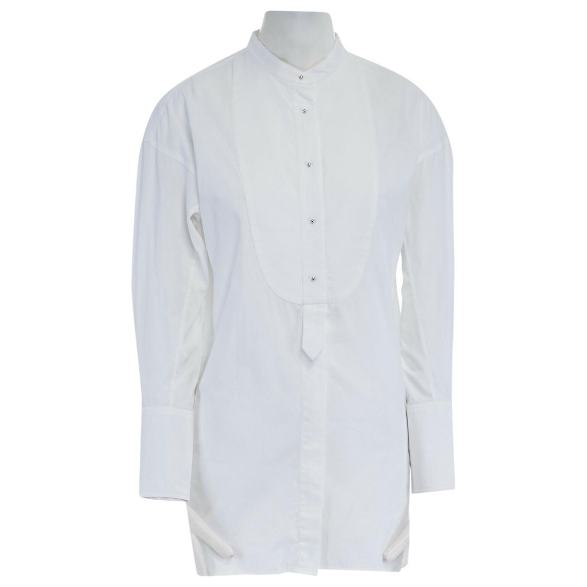 Prada \N White Cotton  top for Women 38 FR