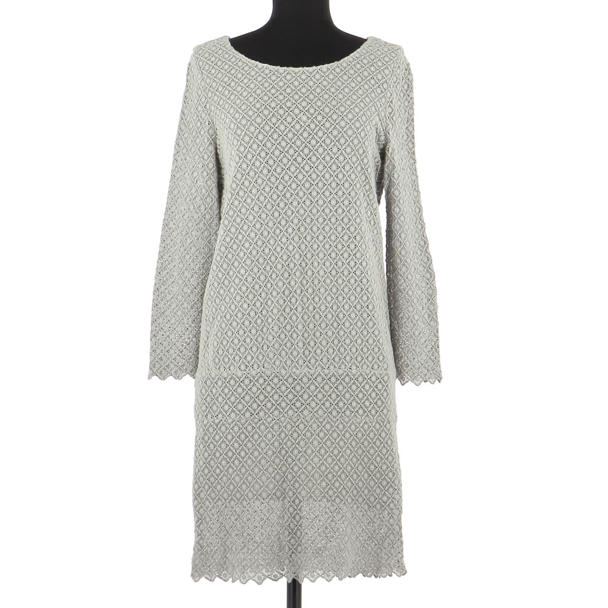 Ba&sh \N Kleid in  Grau Baumwolle