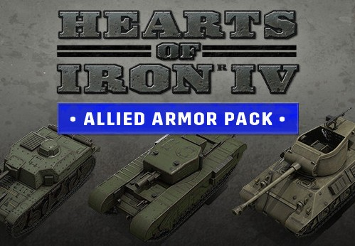 Hearts of Iron IV - Allied Armor Pack DLC Steam CD Key