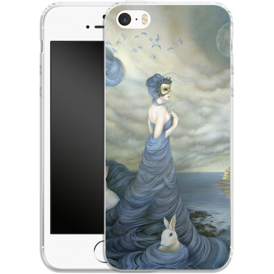 Apple iPhone SE Silikon Handyhuelle - Where Time Beckons the Wicked von Dan May