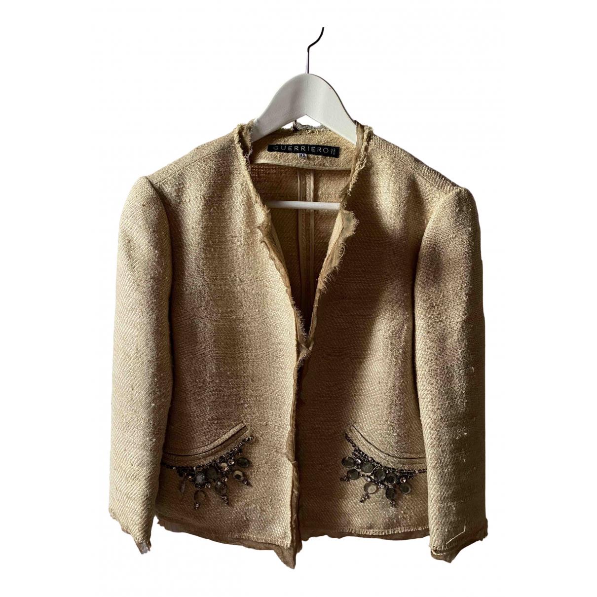 Guerreiro - Veste   pour femme en soie - dore
