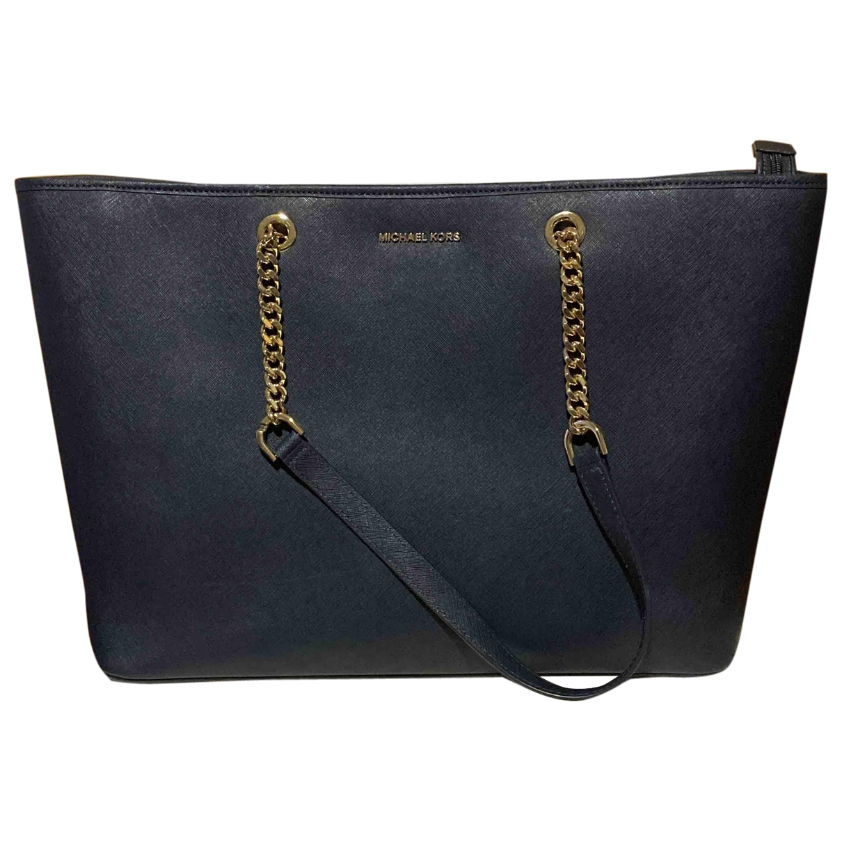 Michael Kors \N Navy Leather handbag for Women \N