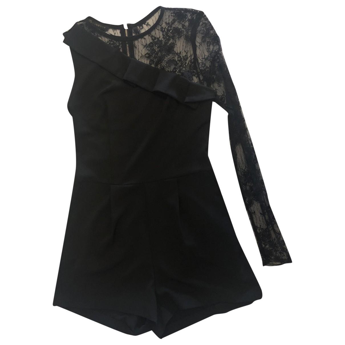 Non Signe / Unsigned \N Kleid in  Schwarz Polyester