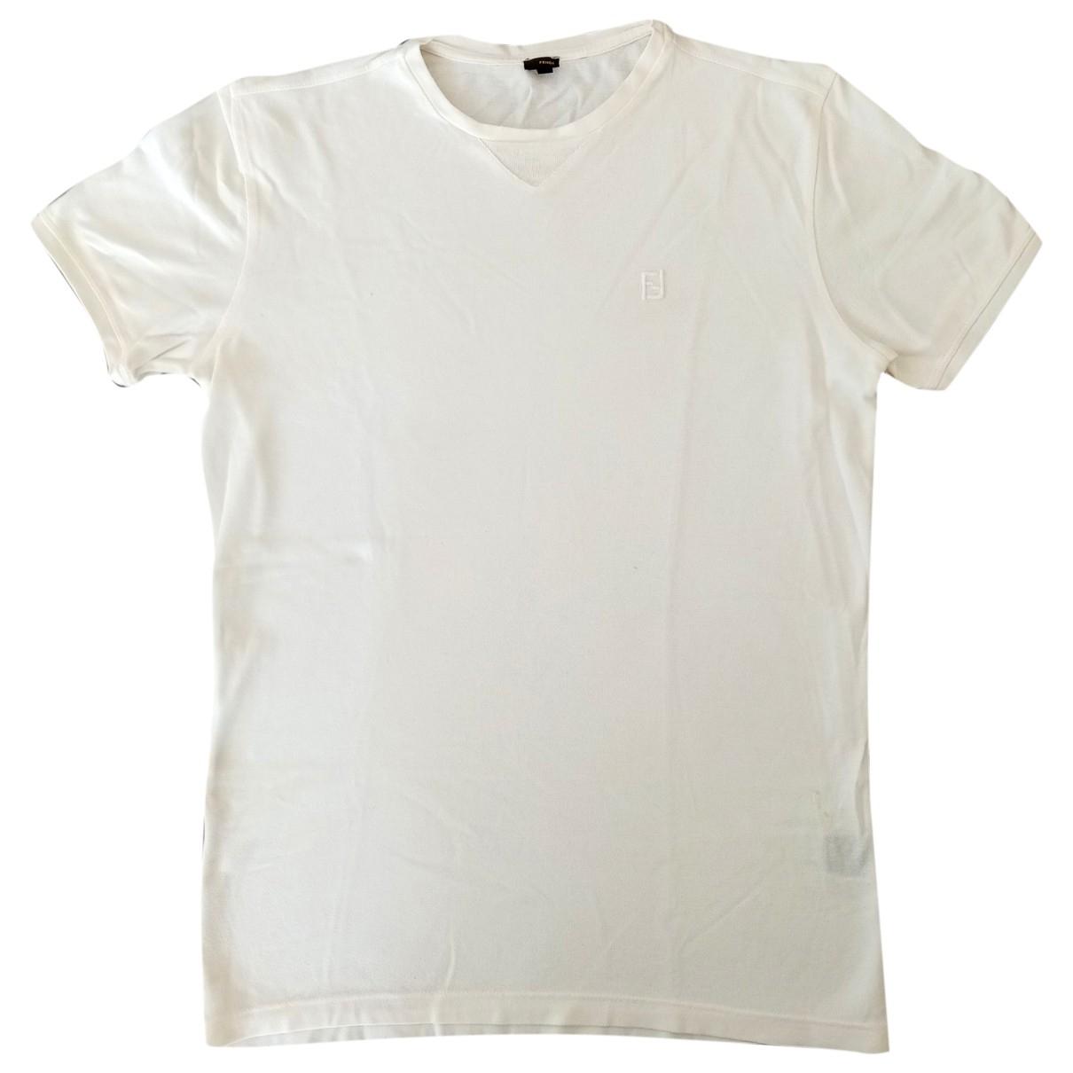 Fendi \N White Cotton  top for Women 46 IT