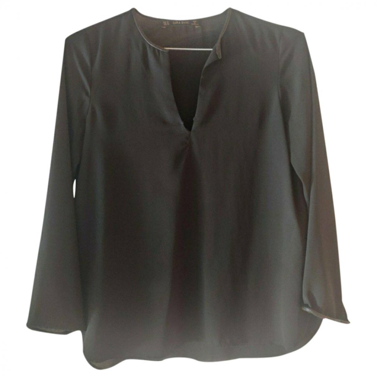 Zara - Top   pour femme - noir