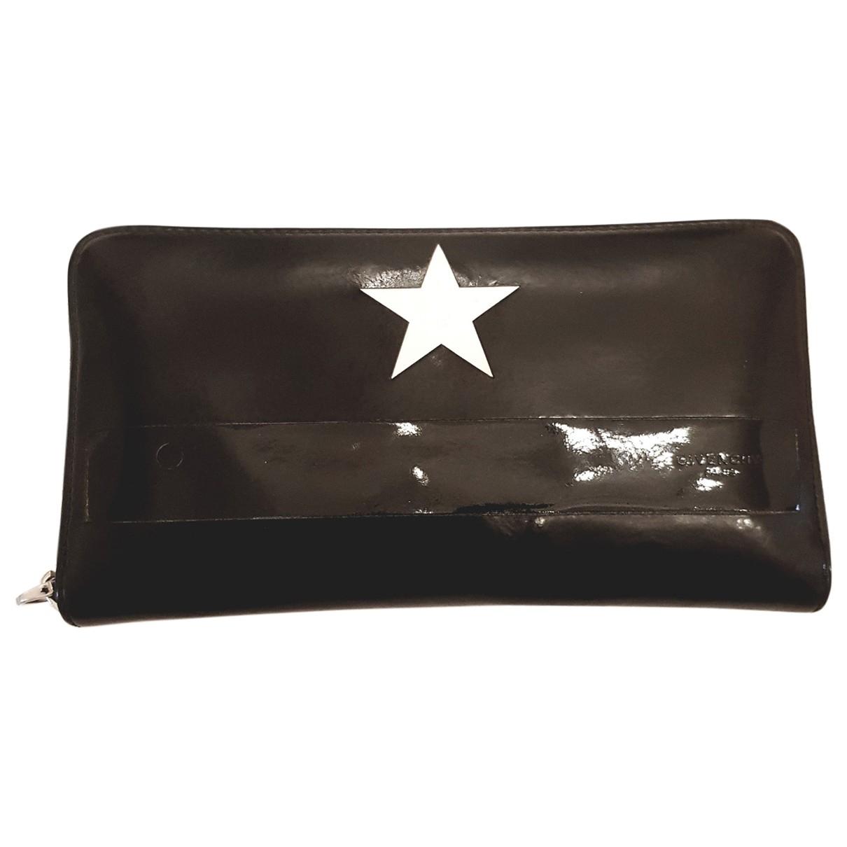 Givenchy \N Portemonnaie in  Schwarz Leder