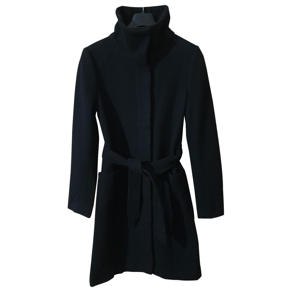 Filippa K - Manteau   pour femme en laine - noir