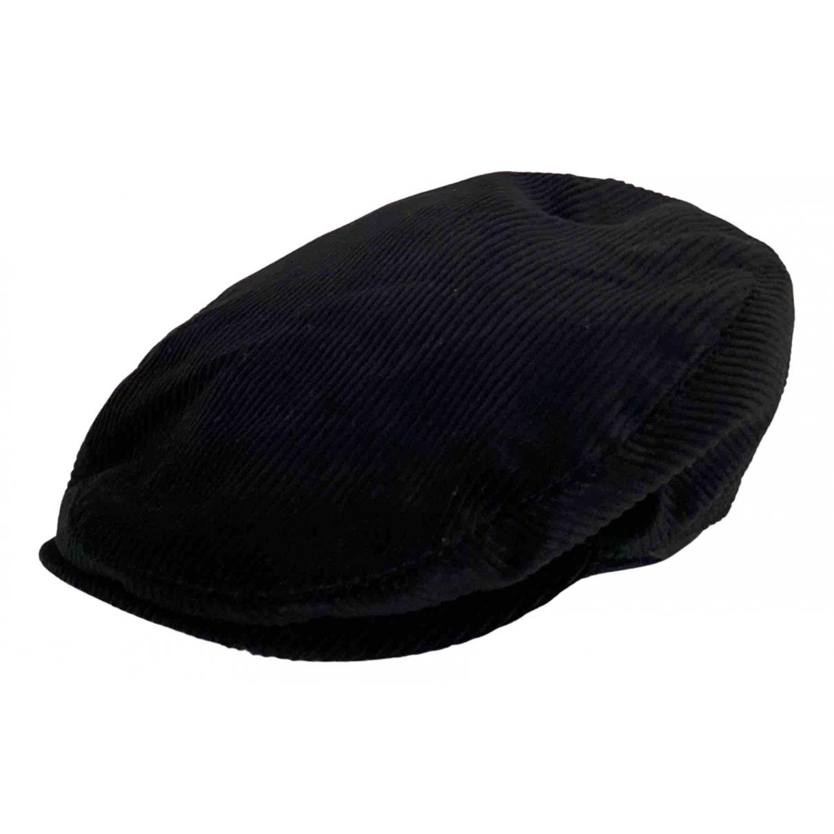 Dolce & Gabbana - Chapeau & Bonnets   pour homme en coton - noir
