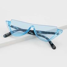 Gafas de sol de marco acrilico medio de hombres