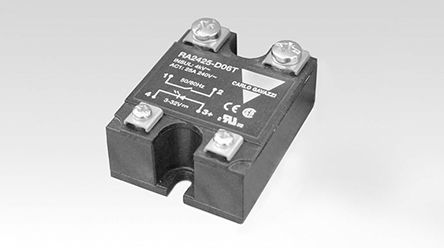 Carlo Gavazzi , 32V dc Coil Latching Relay, 25A Switching Current Panel Mount