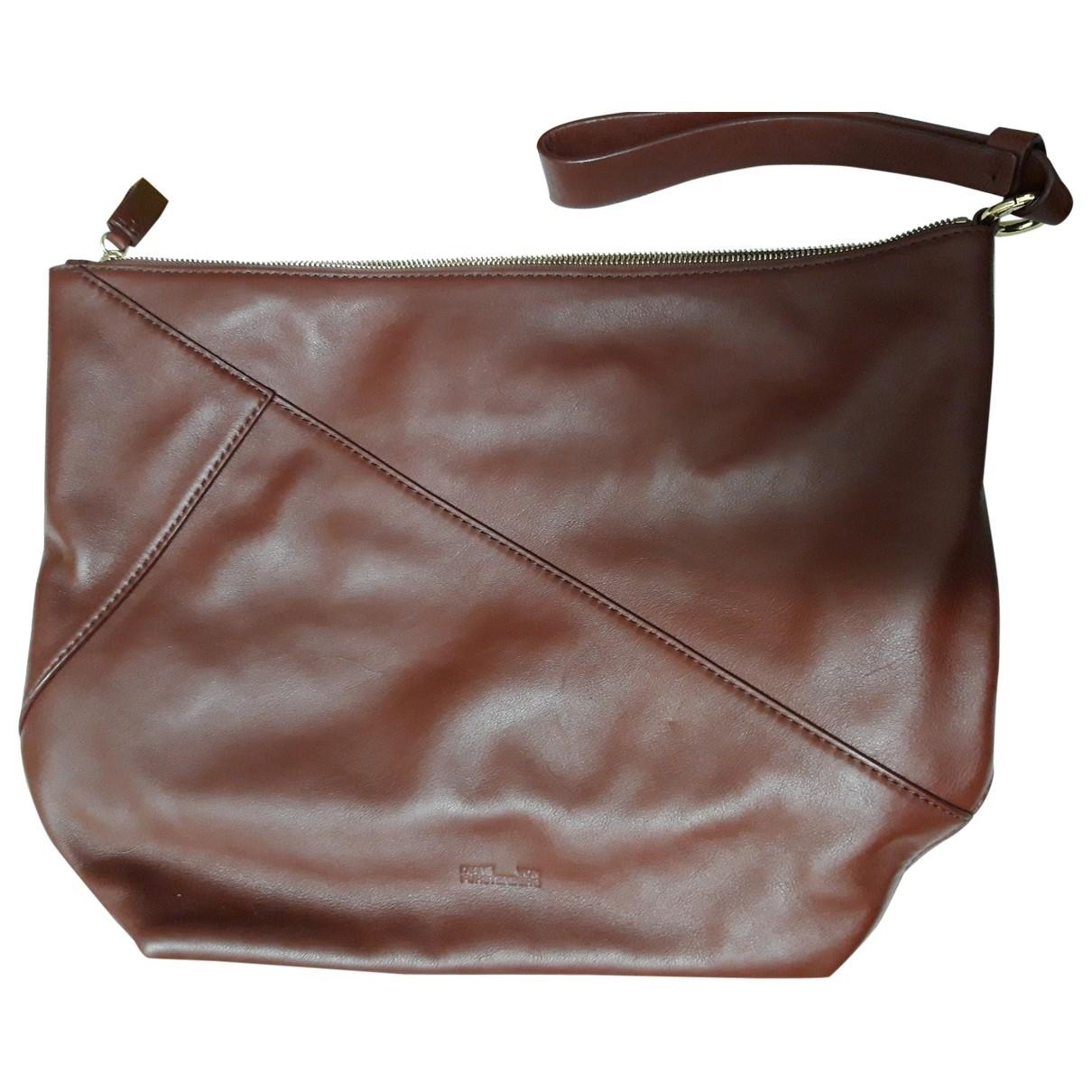 Diane Von Furstenberg \N Burgundy Leather Clutch bag for Women \N