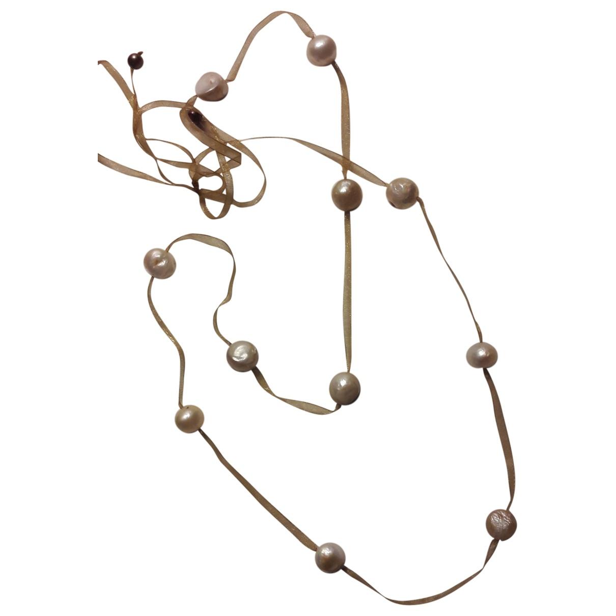 - Collier Nacre pour femme en perles - rose