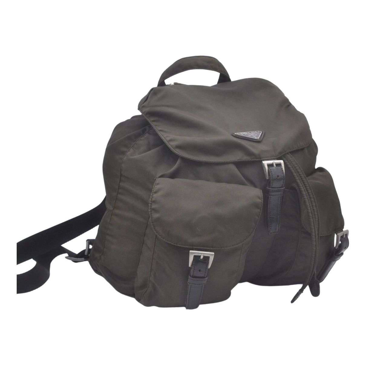 Prada \N Khaki backpack for Women \N