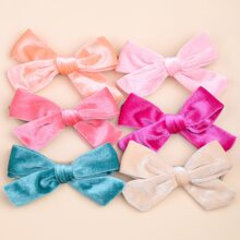 6pcs Baby Bow Design Headband