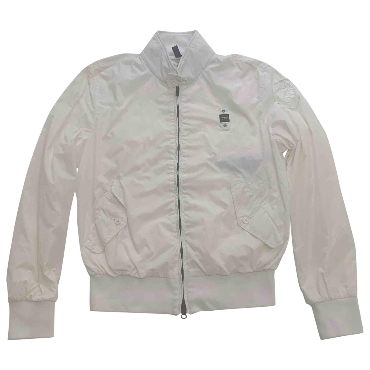 Blauer \N White jacket  for Men XL International