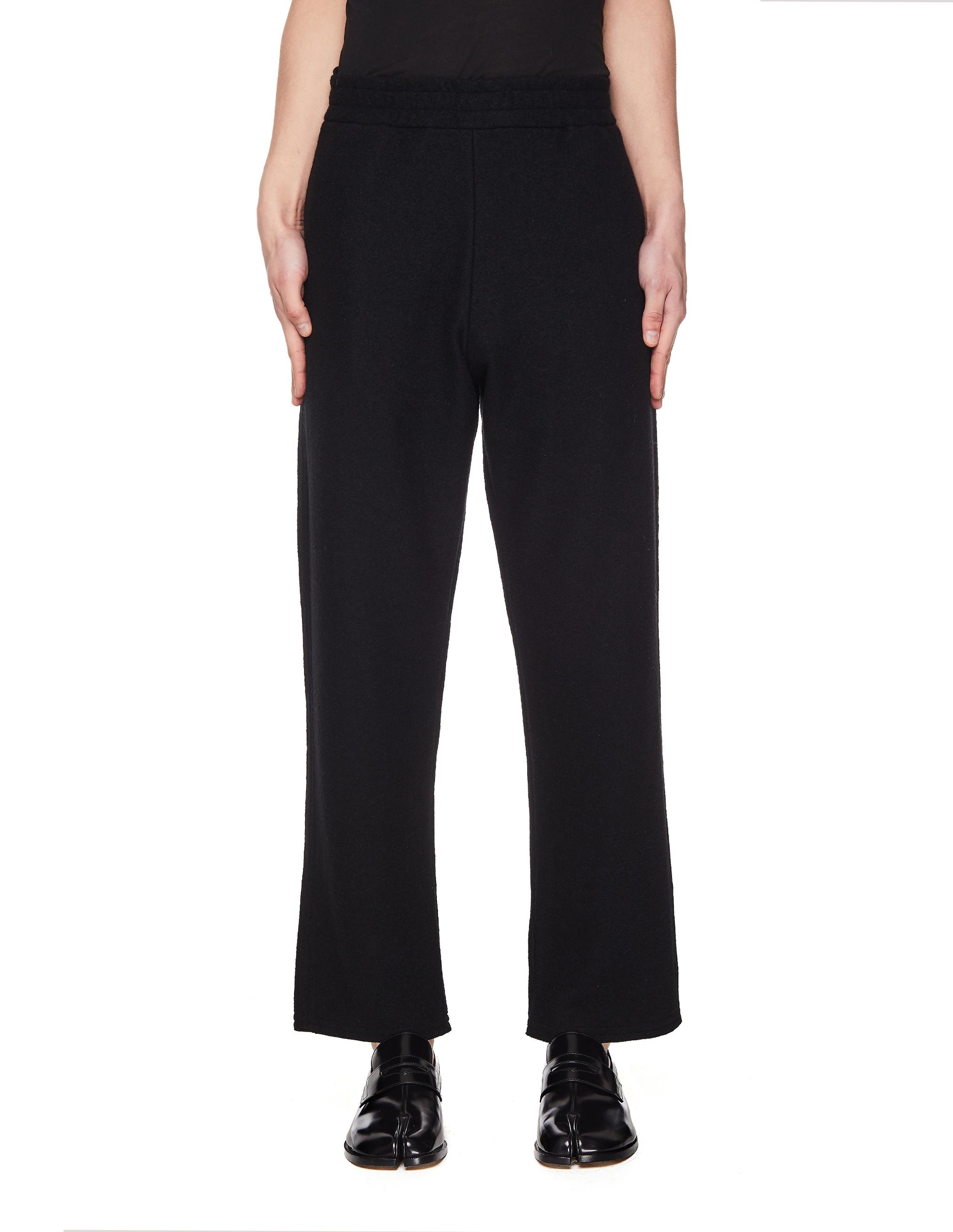 Jil Sander Black Wool Blend Trousers