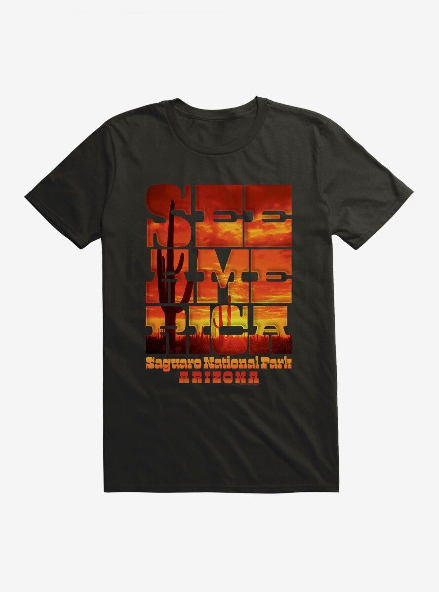 See America Saguaro National Park T-Shirt