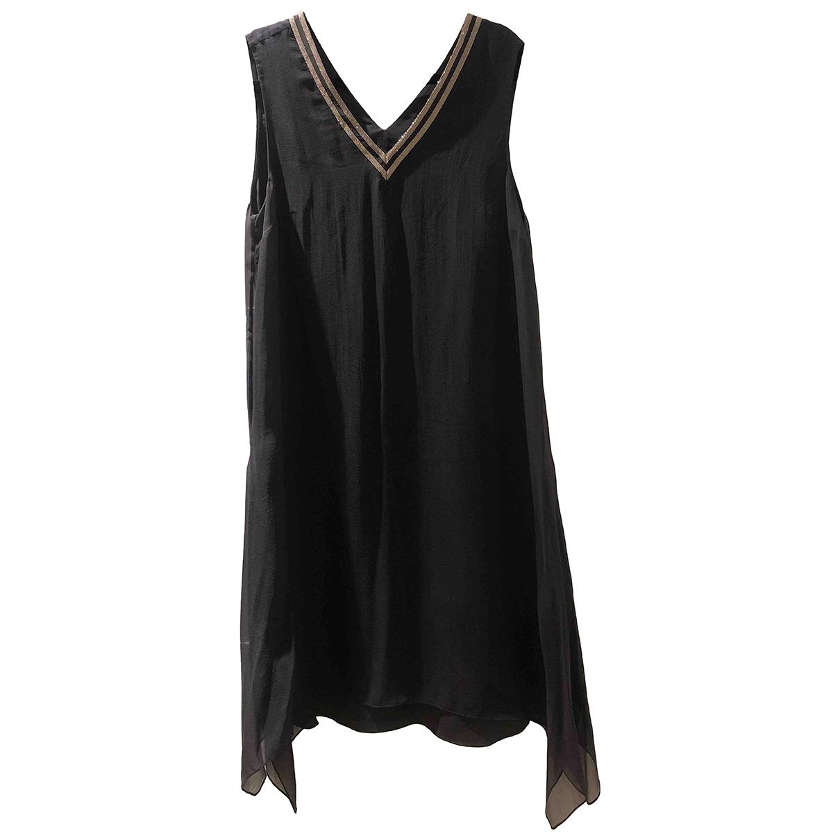 Maxi vestido de Seda Brunello Cucinelli