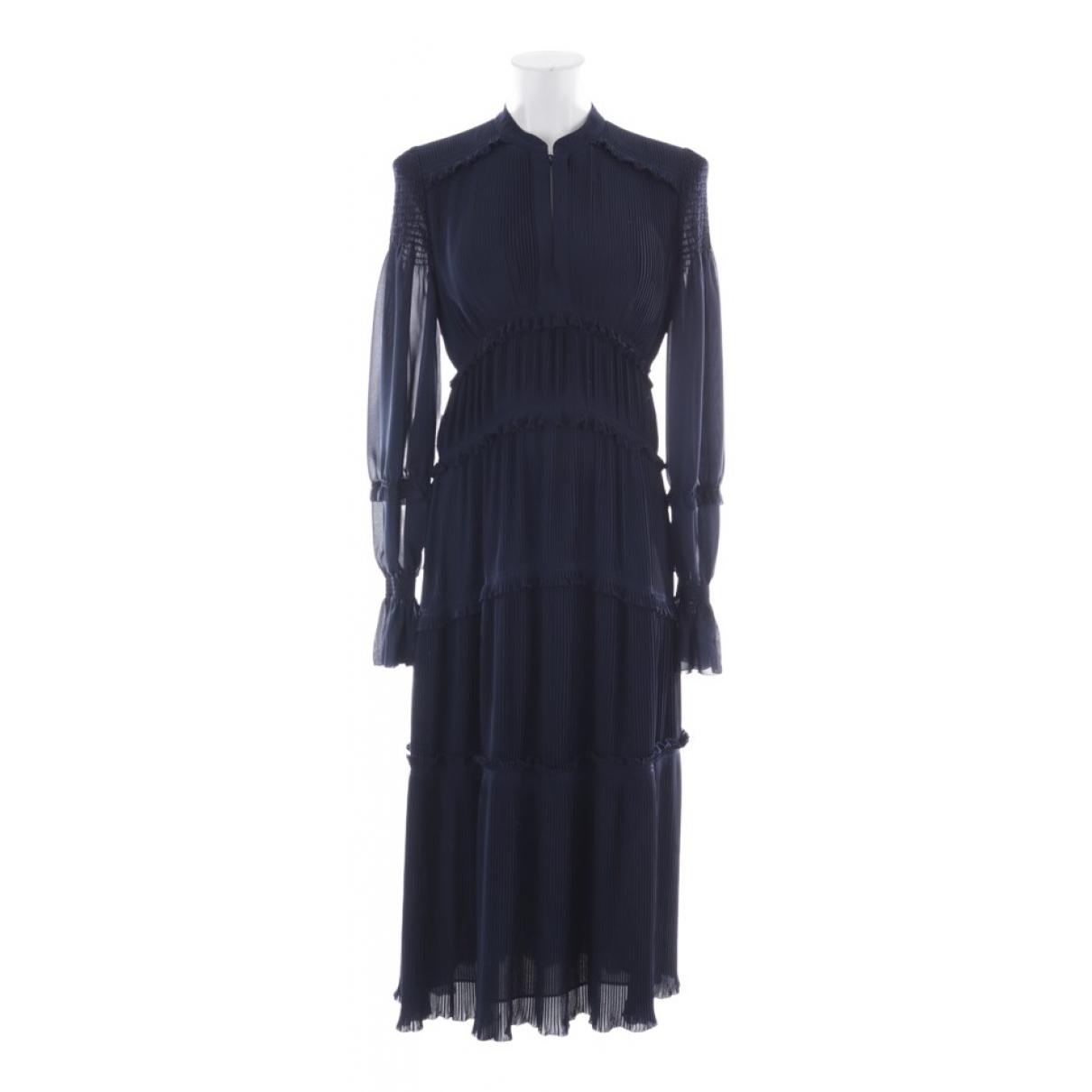 Tory Burch \N Kleid in  Blau Synthetik
