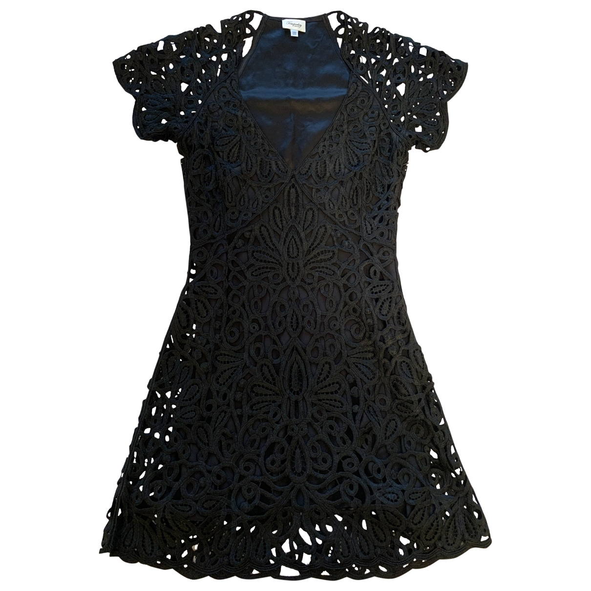 Temperley London \N Black Silk dress for Women 36 FR