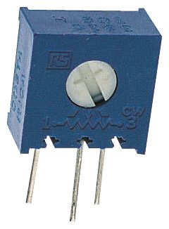 Bourns 2.5kΩ, Through Hole Trimmer Potentiometer 0.5W Side Adjust , 3386