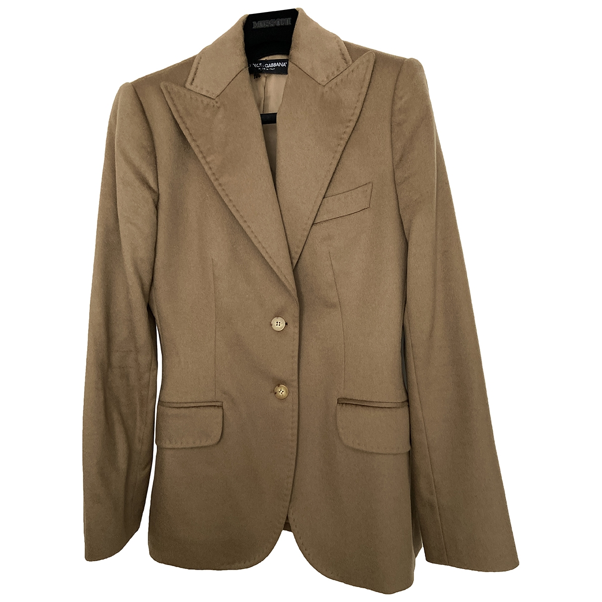 Dolce & Gabbana \N Camel Cashmere jacket for Women 46 IT