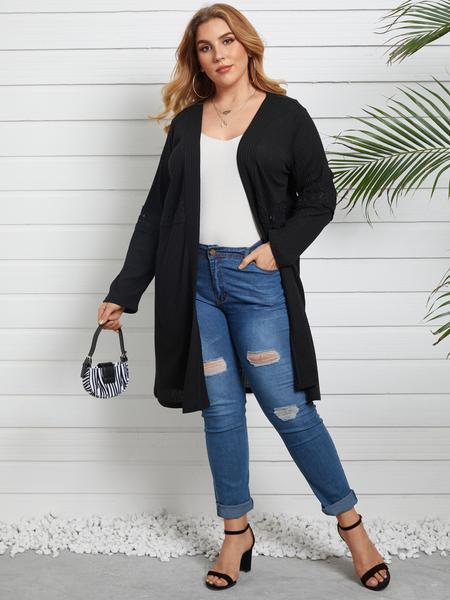 YOINS Plus Size Long Sleeves Knitwear