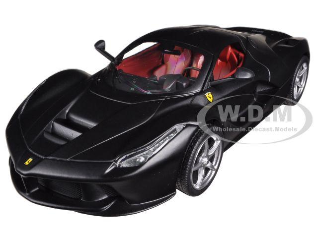 Ferrari Laferrari F70 Hybrid Matt Black 1/24 Diecast Model Car by Hotwheels