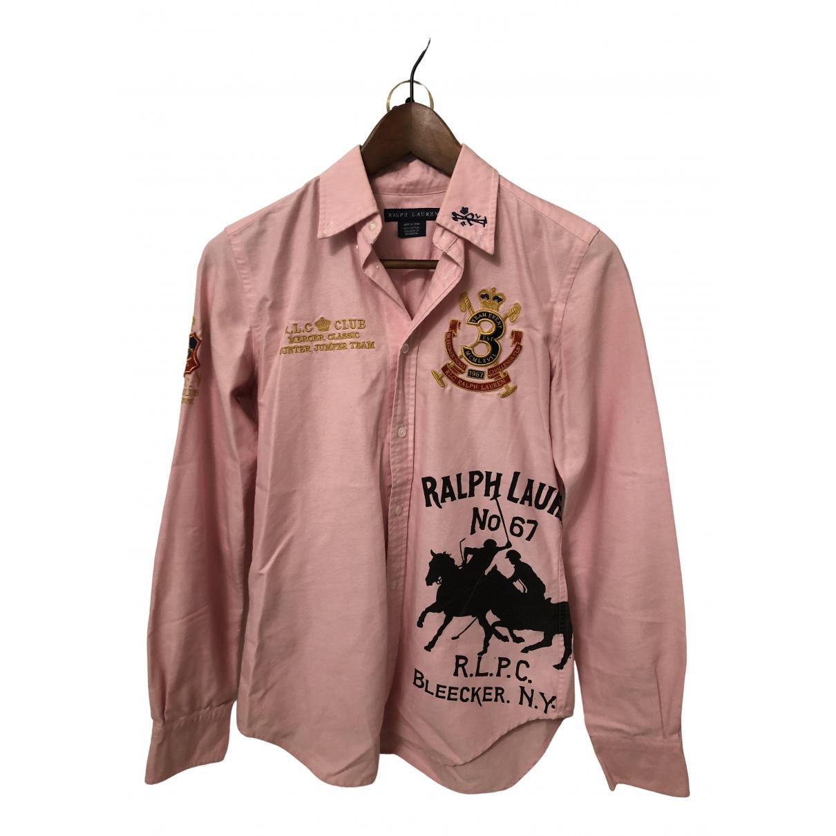 Ralph Lauren N Pink Cotton  top for Women 4 US