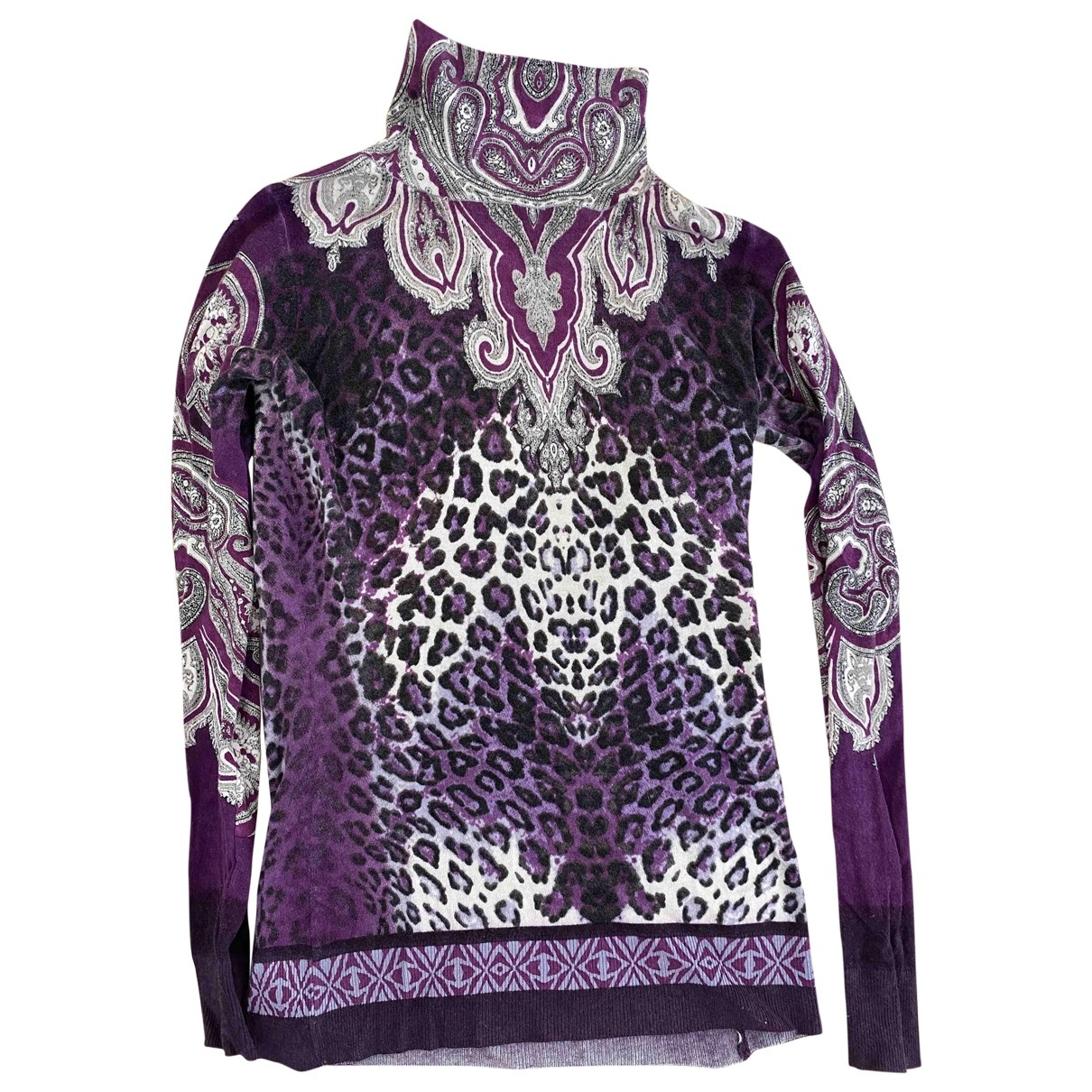 Etro \N Purple Cashmere Knitwear for Women 40 IT