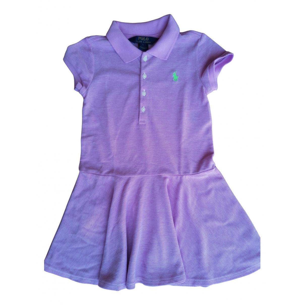 Polo Ralph Lauren \N Kleid in  Lila Baumwolle