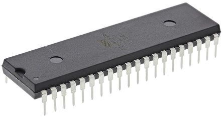 Microchip AT89C55WD-24PU, 8bit 8051 Microcontroller, AT89, 24MHz, 20 kB Flash, 40-Pin PDIP (2)
