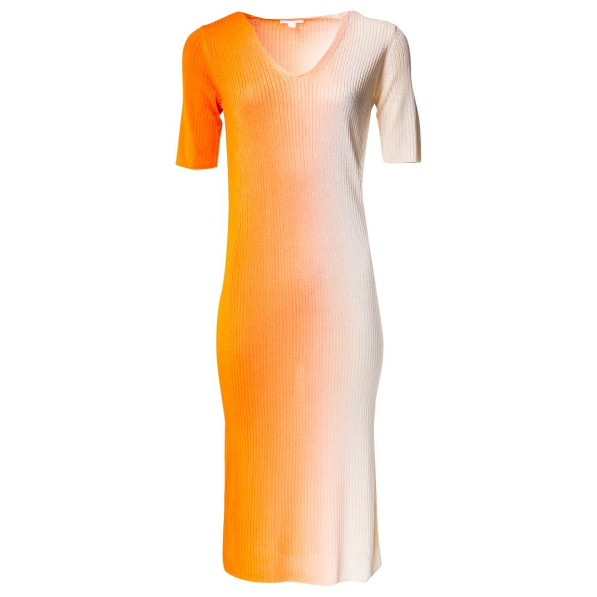 Cos \N Kleid in  Orange Viskose