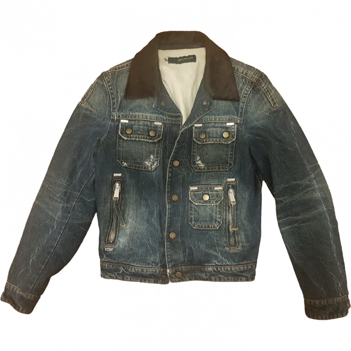 Dsquared2 \N Blue Denim - Jeans jacket  for Men S International