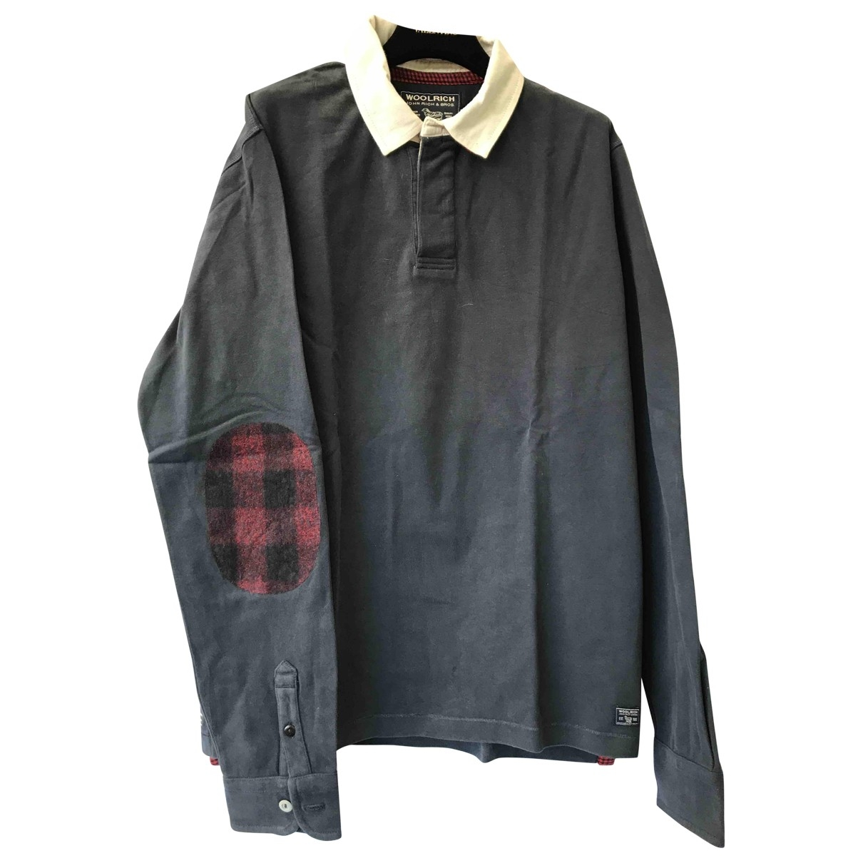 Woolrich \N Poloshirts in  Grau Baumwolle
