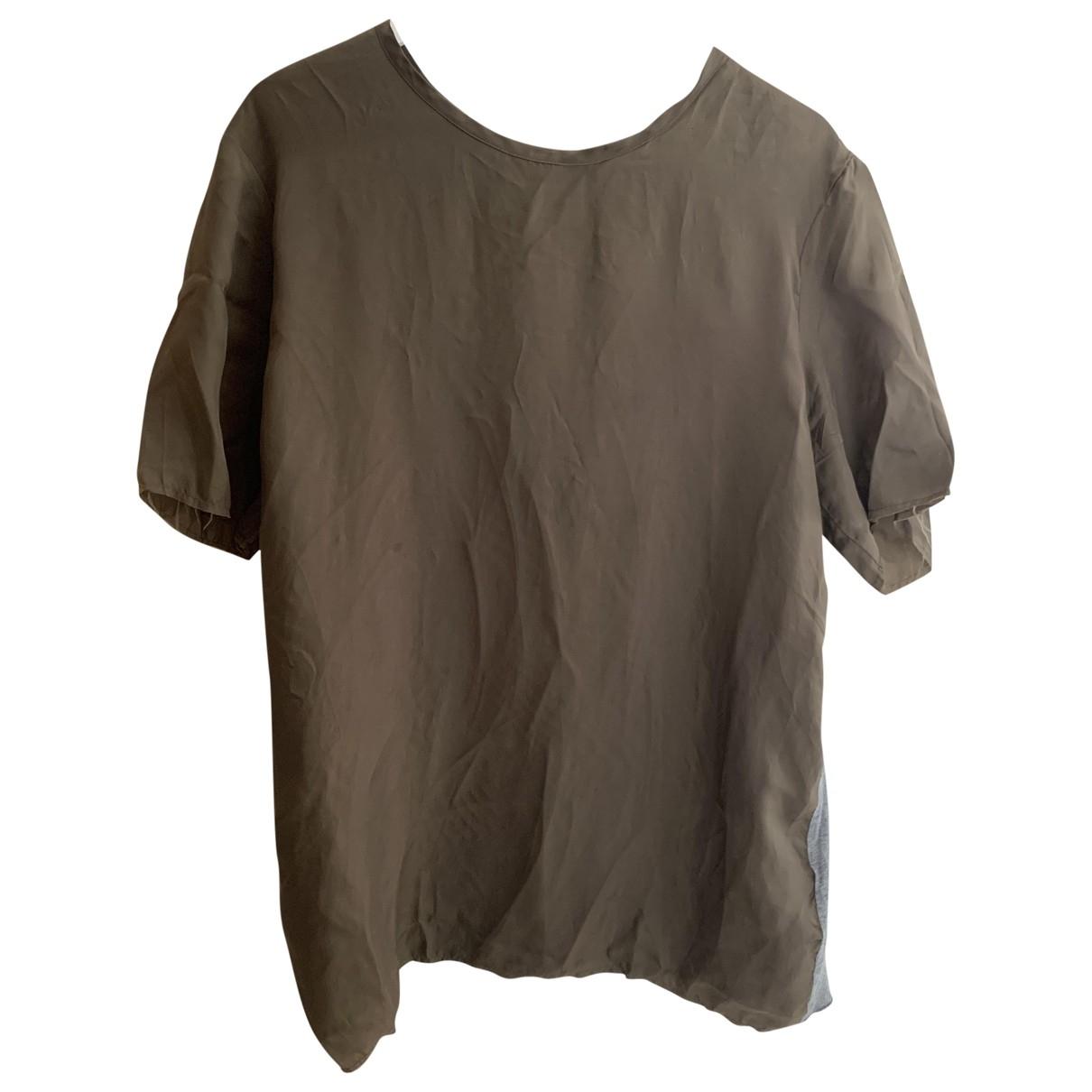 Valentino Garavani \N Brown Cotton T-shirts for Men L International