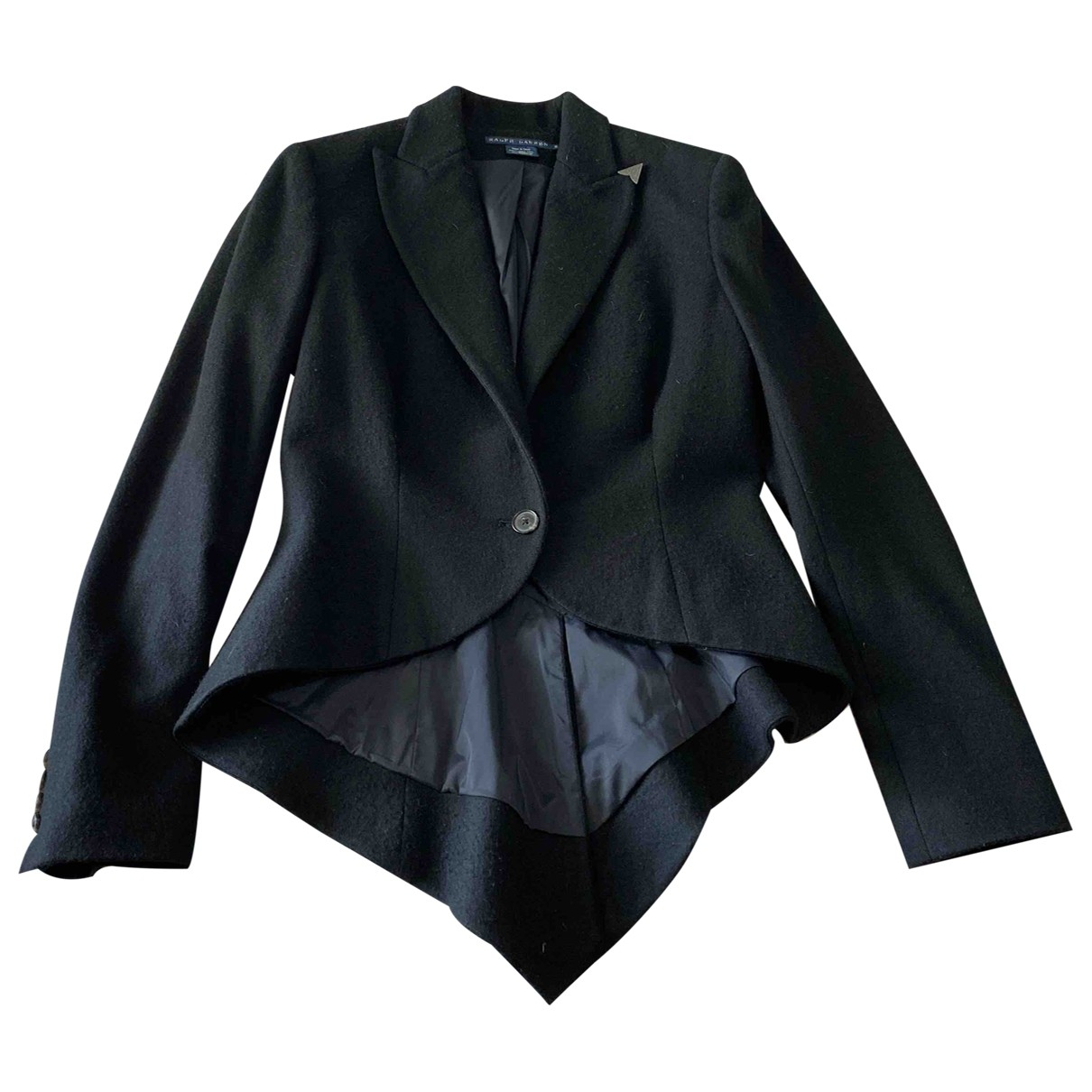 Polo Ralph Lauren \N Black Wool jacket for Women 8 US