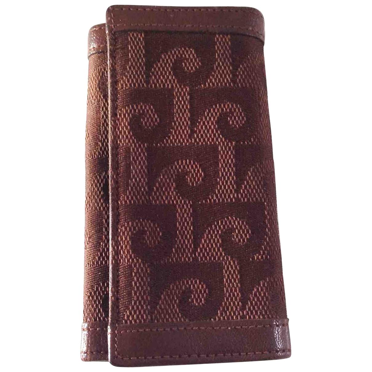 Pierre Cardin \N Brown Cloth Purses, wallet & cases for Women \N