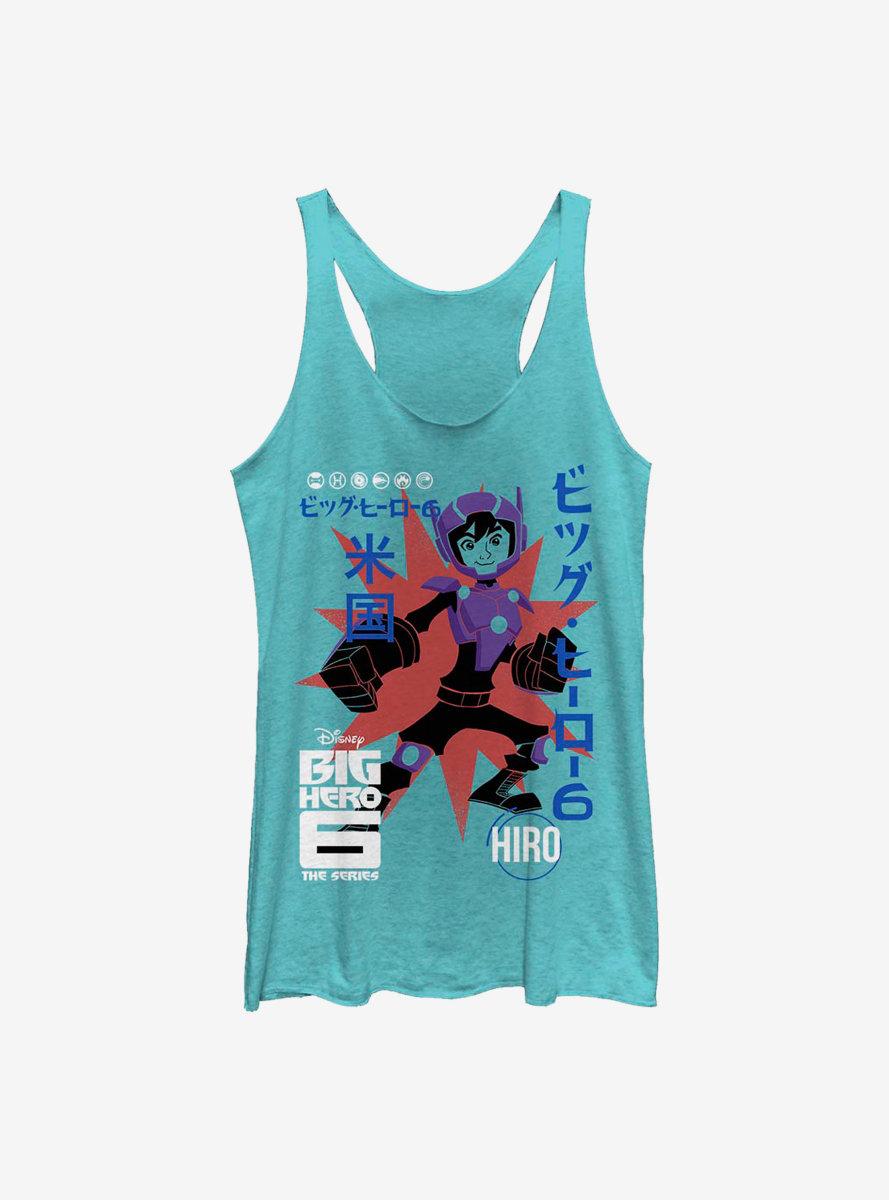 Disney Big Hero 6 Hiro Poster Womens Tank Top