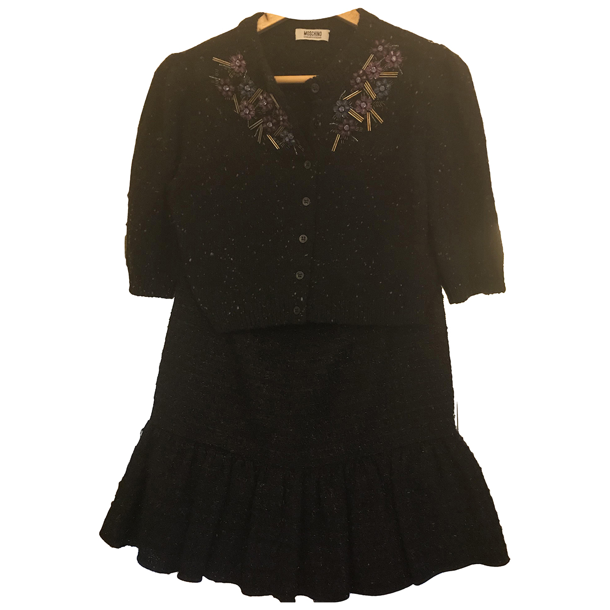 Moschino Cheap And Chic - Robe   pour femme en laine - noir
