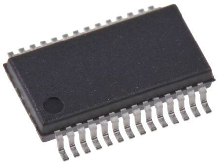 Maxim Integrated MAX197AEAI+, 12 bit Parallel ADC 8-Channel, 28-Pin SSOP (46)