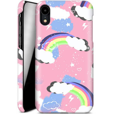 Apple iPhone XR Smartphone Huelle - Unicorn Rainbow von Mukta Lata Barua