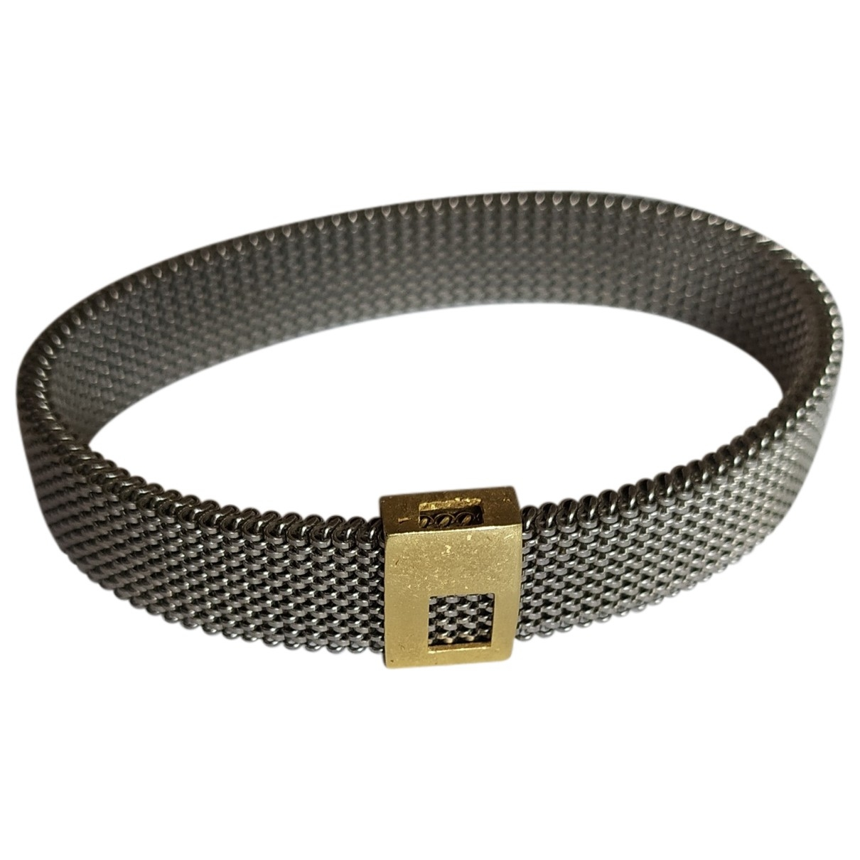 Non Signé / Unsigned \N Silver Metal bracelet for Women \N