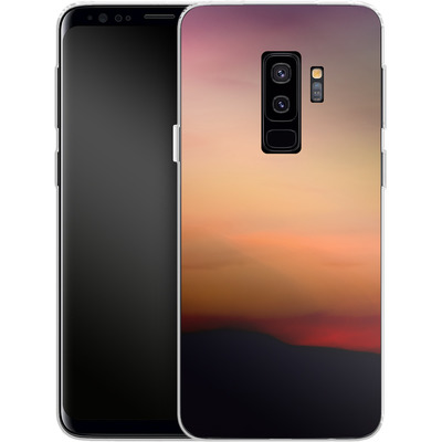 Samsung Galaxy S9 Plus Silikon Handyhuelle - Sunset von Joy StClaire