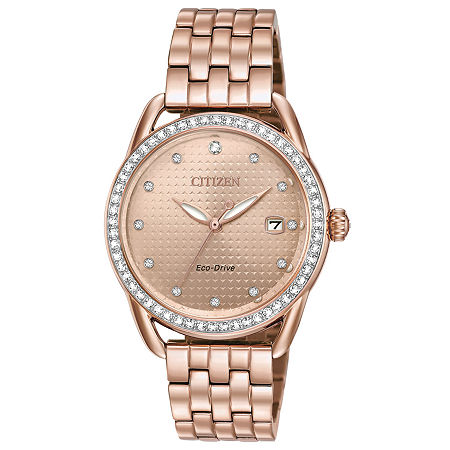 Drive from Citizen Womens Stainless Steel Bracelet Watch-Fe6113-57x, One Size , No Color Family