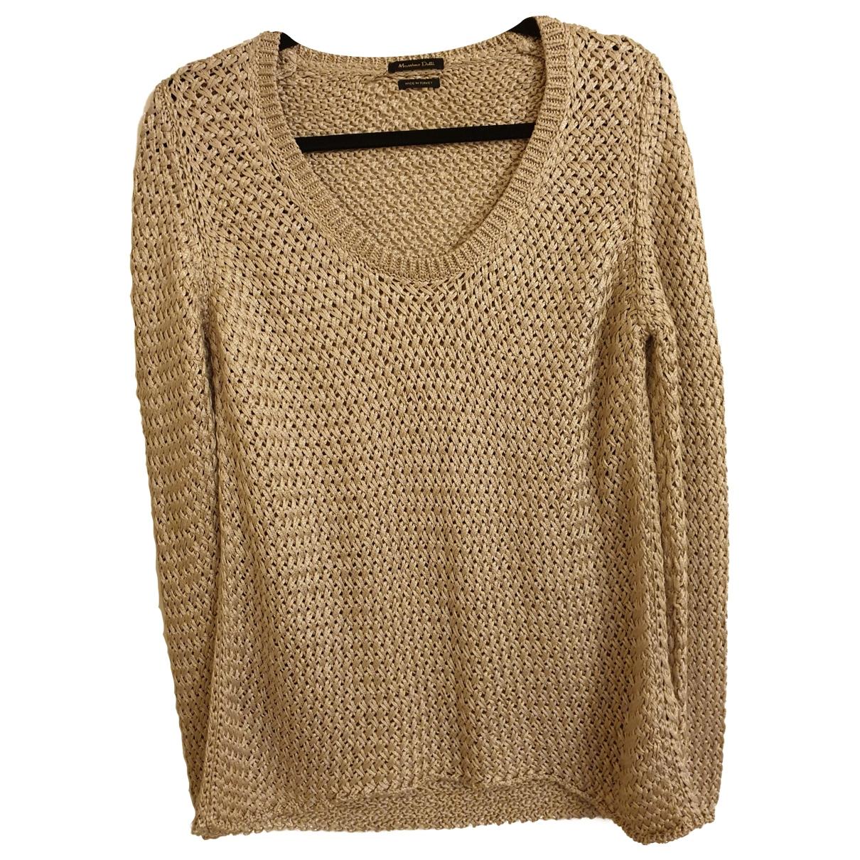 Massimo Dutti \N Beige Knitwear for Women 36 FR