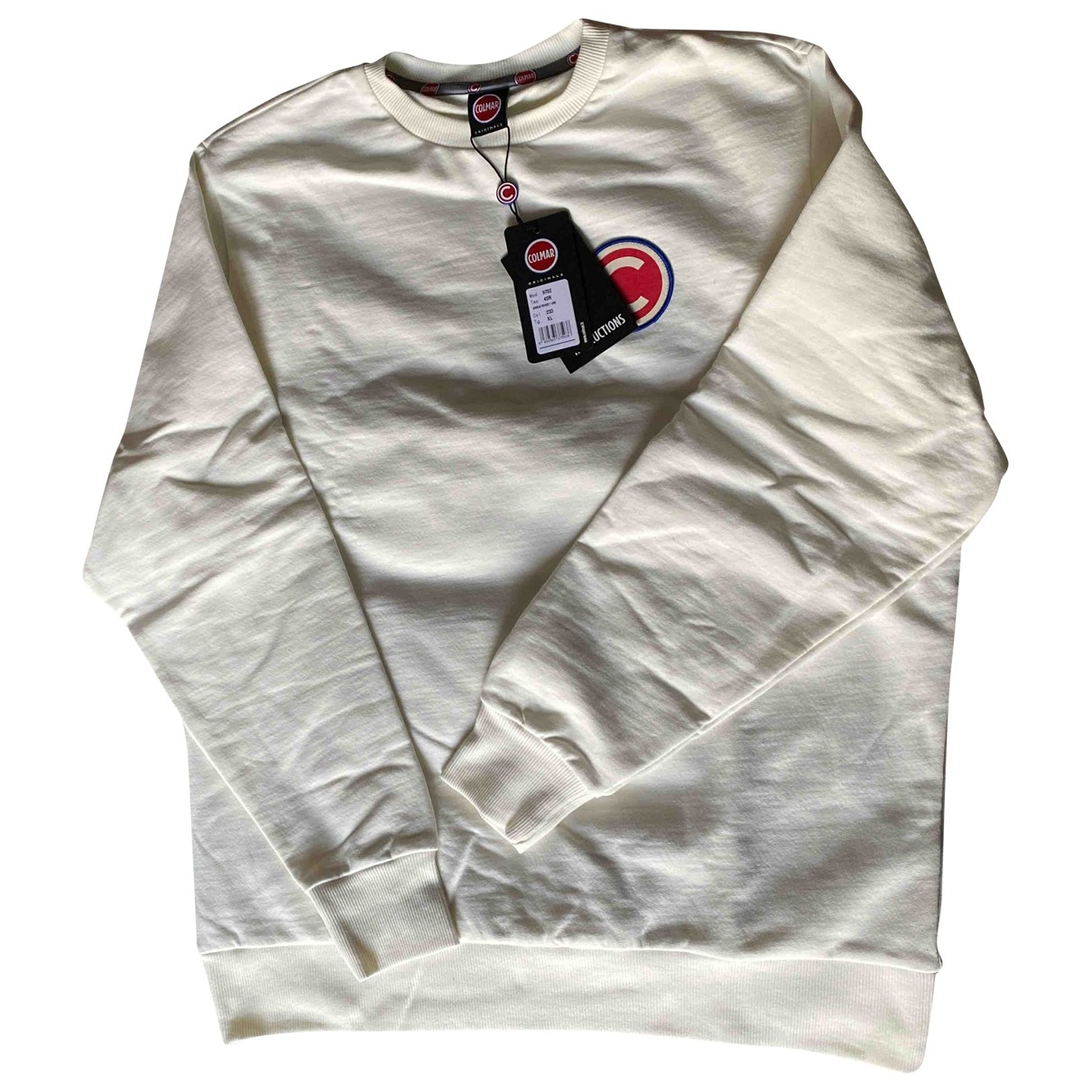 Colmar \N Pullover.Westen.Sweatshirts  in  Weiss Baumwolle