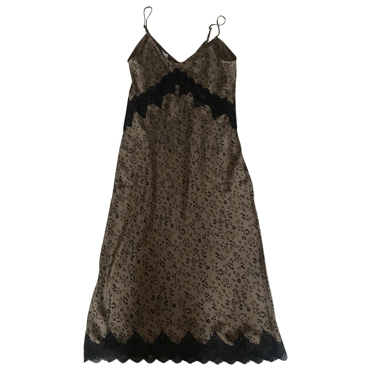 Carine Roitfeld Pour Uniqlo \N Multicolour Silk dress for Women M International